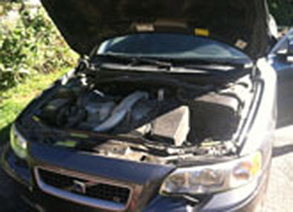 Auto Artisans Inc - Before and After - Engine Detail - Before 1
