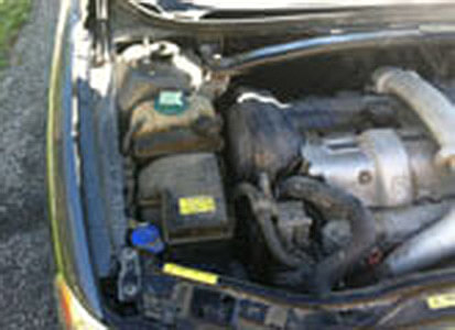 Auto Artisans Inc - Before and After - Engine Detail - Before 2