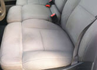 Auto Artisans Inc - Before and After - Torn Cloth with Cushion Damage - After 2