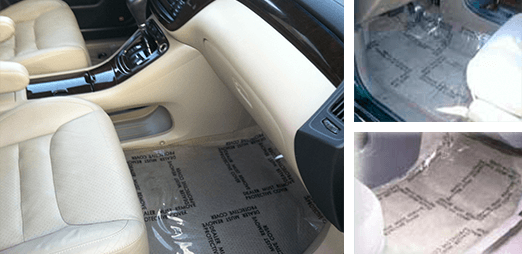 Auto Artisans Inc - Products - Plastic Carpet Protectors