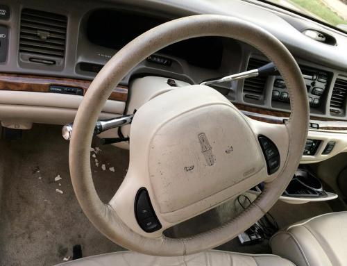 Interior Detailing – Steering Wheel
