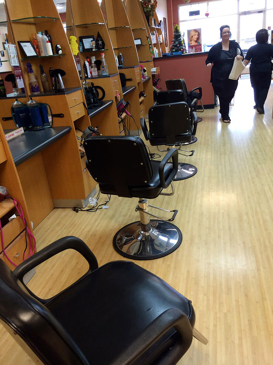 Auto Artisans Inc. - Leather Furniture Repair - Barber Chair After 2